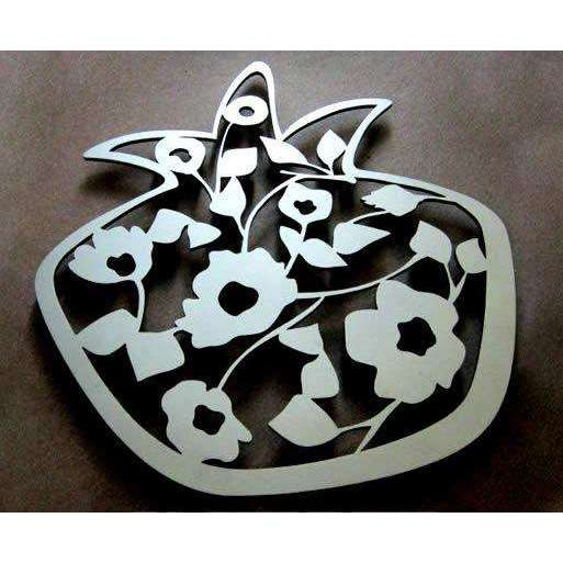 Melanie Dankowicz Pomegranate in Bloom Trivet