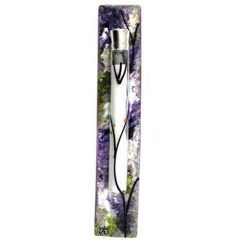 Sand and Water Art Lavender Fields Mezuzah