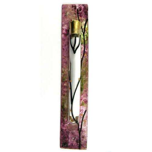 Sand and Water Art Secret Garden Mezuzah