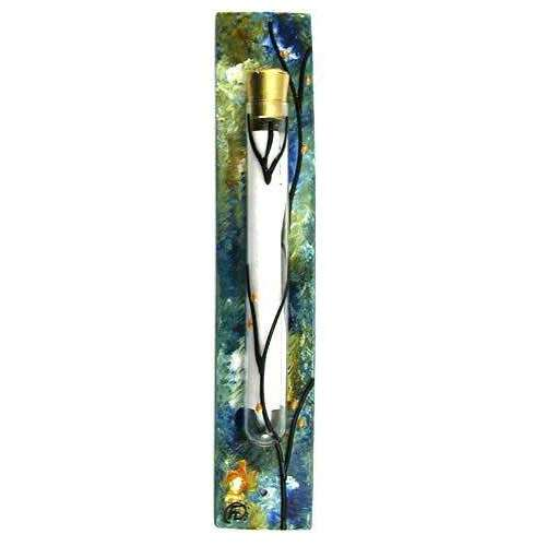 Sand and Water Art Summer Breeze Mezuzah