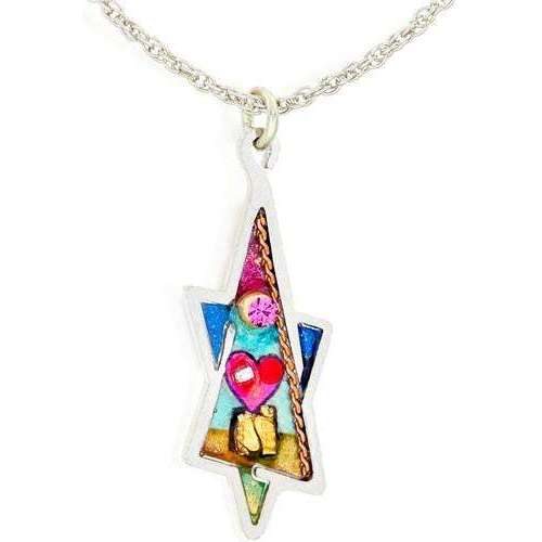 Seeka Angled Star of David Necklace