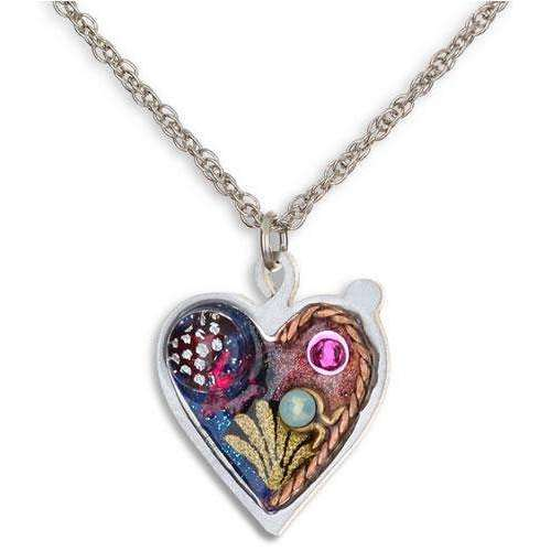 Seeka Celestial Heart Necklace