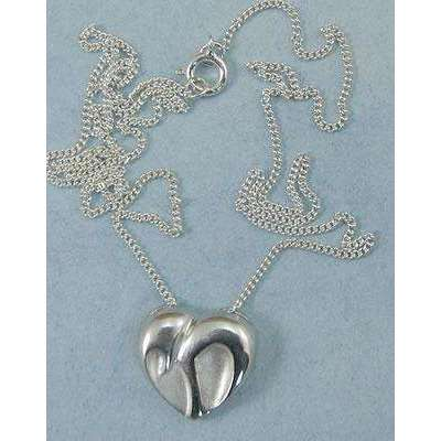 Yonatan Chai Heart Necklace