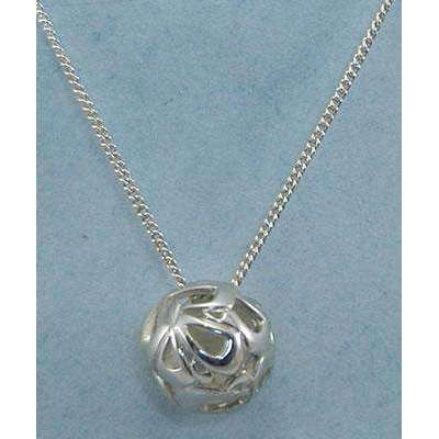 Yonatan Medium Chai Ball Necklace