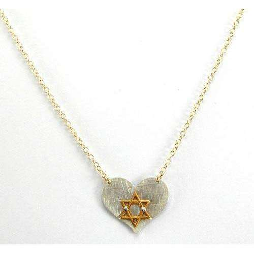 Zina Kao Beautiful Star of David in Heart