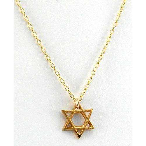 Zina Kao Elegant Star of David Necklace