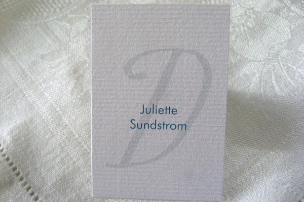 Seating Cards / Whimsy