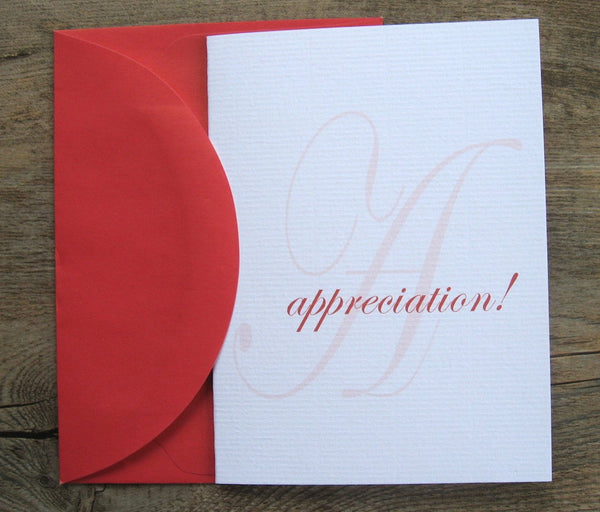 Thank Yous / Luxe Singles Appreciation
