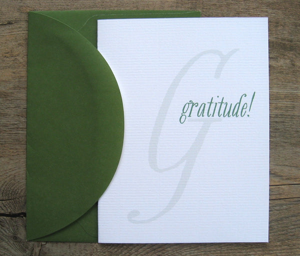 Thank Yous / Whimsy Singles Gratitude