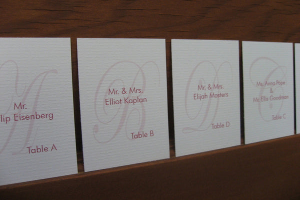 Seating Cards / Luxe
