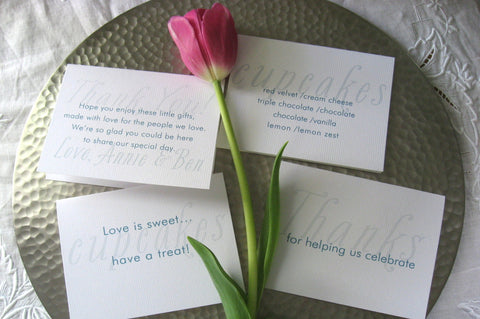 Reception Signs / Whimsy