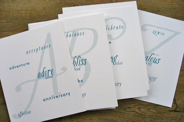 Table Cards / Whimsy Set