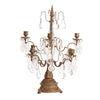 Aged Gold Table Candelabra