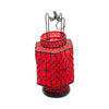 Asian Table Lantern - Red