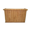 Bamboo Bar Unit With Shelf and Top