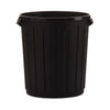 Black Rubbish Bin