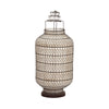 Black Wire Chinese Lantern Medium