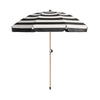 Black and White Umbrellas 2m Sq