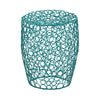 Blue Wire Stool