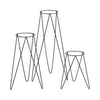 Bullet Planter Stand Black 800mm