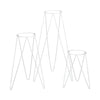 Bullet Planter Stand White 400mm