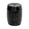 Ceramic Stool Black