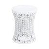 Ceramic Stool White