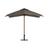 Charcoal Market Umbrella 3m Sq
