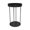 Charcoal Steel Display Stand 100cm H