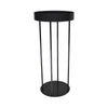 Charcoal Steel Display Stand 120cm H