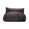 Charcoal Two Seater Bean Bag