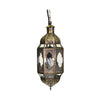 Gold Hanging Moroccan Lantern Small