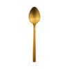 Gold Matt Dessert Spoon