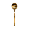 Gold Matt Soup Spoon