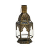 Gold Moroccan Table Lantern Medium
