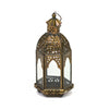 Gold Moroccan Table Lantern Small