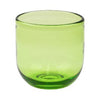 Green Glass Tumbler