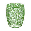 Green Wire Stool