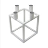 Linear 4 Candle Holder White