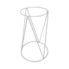 Metal Wire Planter Stand White 450mm
