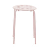 Pale Pink Low Stool