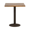 Parquetry Square cafe Table