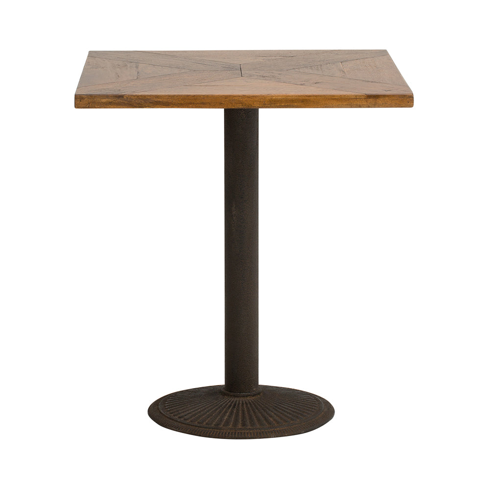 best service 3552d e2578 Parquetry Square cafe Table