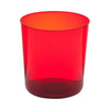 Red Glass Tumbler