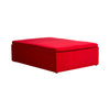 Red Velvet Day Bed - Rectangle