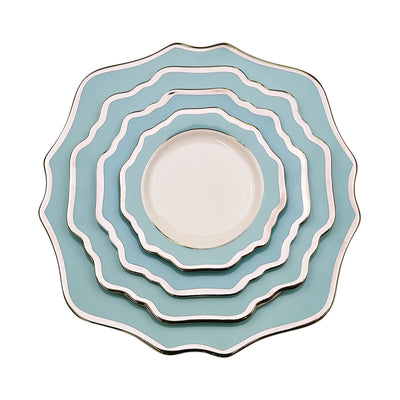 Sunflower Duck Egg Side Plate