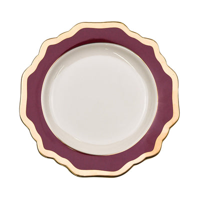 Sunflower Ox Blood Side Plate