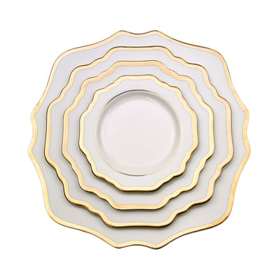 Sunflower White Side Plate