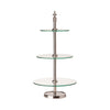 Three Tier Glass Cake Stand