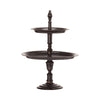 Two Tier Antique Cake Stand